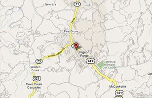 Smoky Mountain Real Estate Map Search